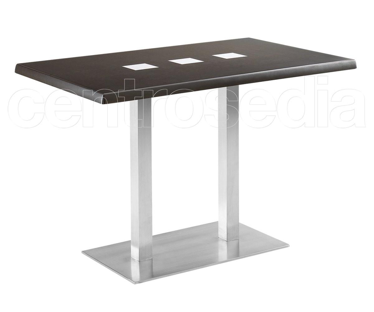 Munich 83 tavolo acciaio inox tavoli alluminio metallo centrosedia